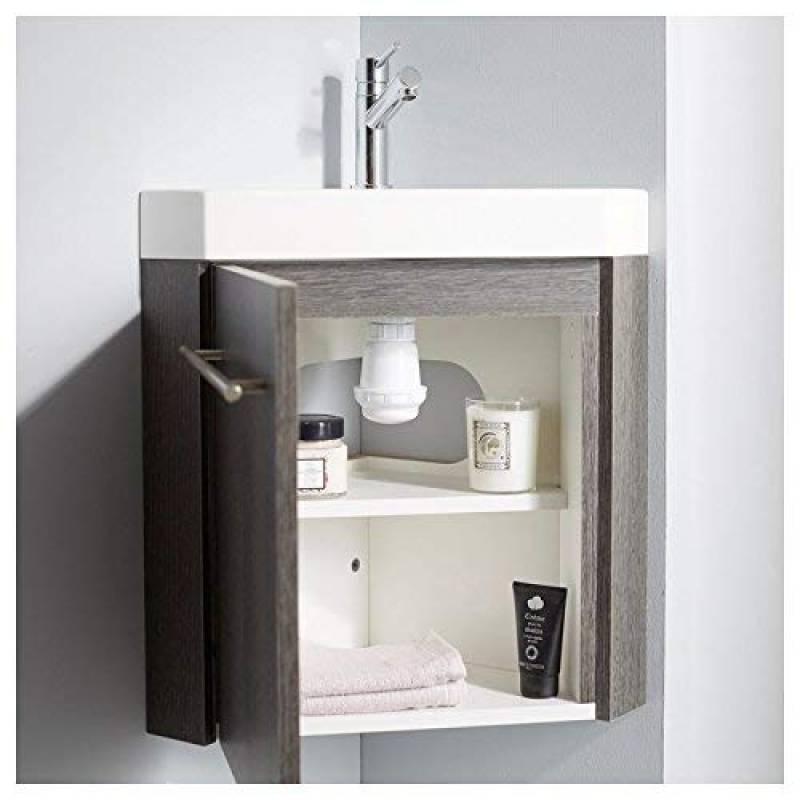 Le comparatif : Meuble lave main angle pour 2019 | Brico Salle de Bain