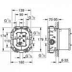 mitigeur thermostatique grohe pour baignoire TOP 0 image 1 produit