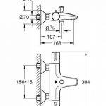 mitigeur thermostatique grohe pour baignoire TOP 7 image 1 produit