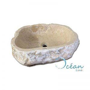 Océan Line Vasque en Pierre, Forme Libre 45/50 cm - Erosio de la marque Océan Line image 0 produit