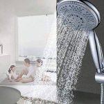 Ounona Multi Fonction Pomme de douche Five-mode faible débit à main pommeaux de douche de pluie avec interrupteur on/off pour salle de bain de la marque OUNONA image 2 produit