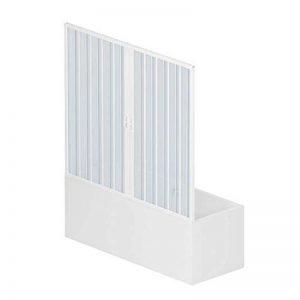 Pare baignoire douche en Plastique PVC mod. Nina 160 cm avec ouverture centrale de la marque RL image 0 produit