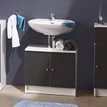 Paris Prix Sous-lavabo 2 Portes remix Gris de la marque Paris Prix image 1 produit