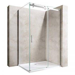 Paroi de douche pare-douche verre de sécurité cabine de douche vitrification nano Ravenna17 80X120X195 de la marque sogood image 0 produit