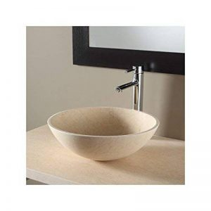 PlaneteBain Vasque à poser bol en pierre effet marbré de la marque PlaneteBain image 0 produit