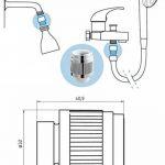 pommeau de douche faible débit TOP 1 image 1 produit