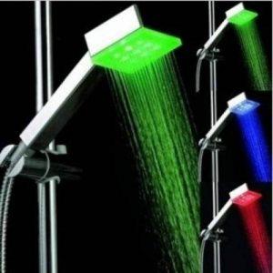 Pommeau de douche à led multicolore change selon la temperature de la marque Home Care Wholesale image 0 produit