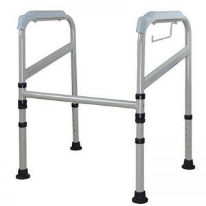 Rails de sécurité des Toilettes, poignées de Toilette pour Personnes âgées et handicapées, Aide à la sécurité des salles de Bain et Mains courantes de la marque Peixia image 0 produit