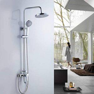 Réduction pour Prime Day: Auralum® Colonne de Douche Mural Douchettes System de Douche avec Mitigeur Thermostatique pour salle de bain Chromé de la marque AuraLum image 0 produit