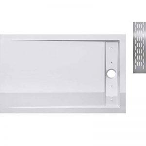 Receveur de douche design ultra plat 4CM bac a douche acrilique Xetro04W 90X120X4 de la marque sogood image 0 produit