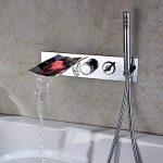 robinet baignoire cascade mural TOP 3 image 2 produit