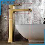 robinet salle de bain doré TOP 1 image 1 produit