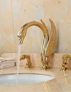 robinet salle de bain doré TOP 2 image 0 produit