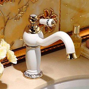 robinet salle de bain doré TOP 4 image 0 produit