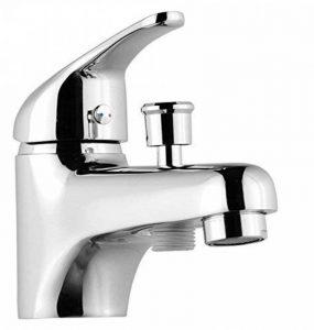 ROUSSEAU 4056452 Monotrou Mitigeur bain/douche Chromé de la marque Rousseau image 0 produit