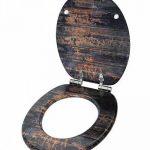 Sanilo Abattant WC Frein de Chute Soft Close - Grande sélection de abattants WC en Bois - Finition de Haute qualité (Vintage) de la marque Sanilo image 3 produit