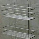 Satina - Étagère de douche Chromé 55 x 30 cm de la marque Satina image 1 produit