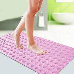 SheShy Memory Foam Pebbles Tapis de bain en roche 60x40cm Tapis de bain en microfibre anti-fongique antidérapant de la marque SheShy image 3 produit