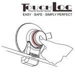 smardy Power TouchLoc de Luxe Colonne de Douche Crochet Ventouse - Fixer sans percer - Rapidement et facilement - Inoxydable de la marque smardy image 3 produit