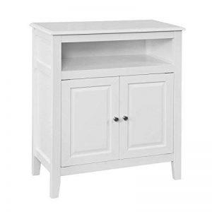 SoBuy FRG204-W Meuble Bas de Salle de Bain Armoire Toilette Buffet Commode – Blanc de la marque SoBuy image 0 produit