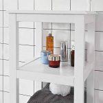 SoBuy® FRG205-W Meuble Colonne de Salle de Bain Armoire Toilette Haute – Blanc de la marque SoBuy image 3 produit