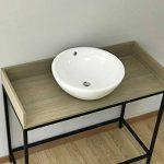 Starbath - Vasque à poser en céramique SBOL. Lavabo pour salle de bain. de la marque Starbath image 1 produit