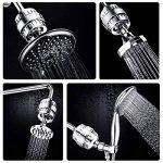 TAPCET Filtre Filtre à Douche Empêche les Cheveux et la Peau de Sécheresse, - Suppression du Chlore, Métaux Lourds et L'odeur de Soufre de L'eau de la marque TAPCET image 4 produit