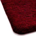 Tapis de bain bordeaux | certifié Oeko-Tex 100 et lavable | poil très doux | plusieurs tailles au choix - 50x60cm de la marque casa pura image 2 produit