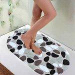 Tapis de Bain Demarkt PVC Tapis Aspiration de Bain Anti-dérapant Anti-Slip Anti-Glisse Massage des Pieds - Galets de la marque Demarkt image 4 produit