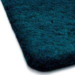 Tapis de bain turquoise | certifié Oeko-Tex 100 et lavable | poil très doux | plusieurs tailles au choix - 50x60cm de la marque casa pura image 2 produit
