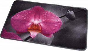 TENDANCE–Chic et Zen Imprimé en Microfibre Tapis, Multicolore, 45x 75cm de la marque TENDANCE image 0 produit
