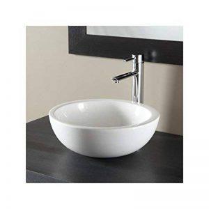 Vasque à poser bol design blanche de la marque PlaneteBain image 0 produit