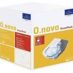 Villeroy & Boch O. Novo Toilette avec assise suspendue, chasse d'eau directe et sans bordure, 5660HR01 de la marque Villeroy & Boch image 3 produit