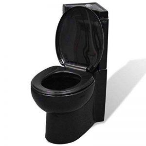 WC Cuvette en céramique Noir 37 x 68 x 79 cm de la marque SENLUOWX image 0 produit