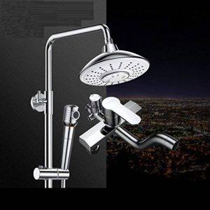 ZHFC Prendre une douche Ensemble de douche musique Bluetooth Sound Faucet Le corps principal de cuivre Boost Pomme de douche de la marque ZHFC-sanitaires image 0 produit