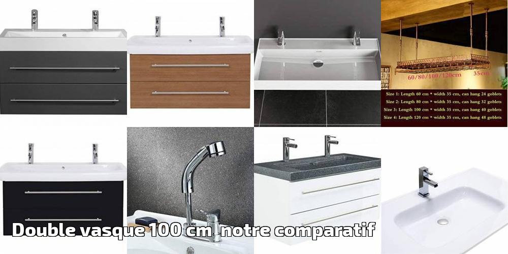 Double vasque 100 cm notre comparatif pour 2019   Brico ...